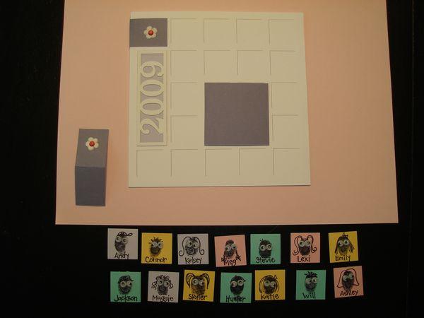 Fingerprint Class Card By Shannon Johnson Design Each Moment