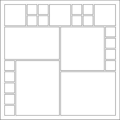 Scrapbook layout sketch ideas 19