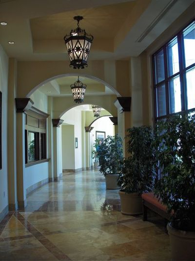 Hallway to convention