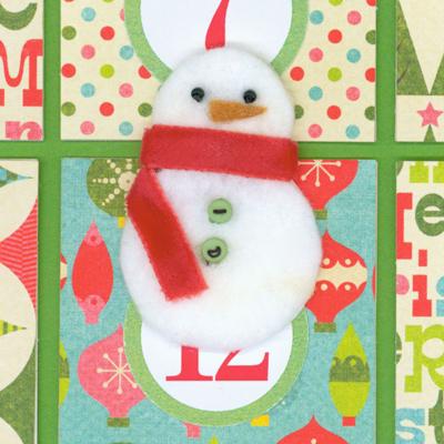 Cmas CD snowmanWB