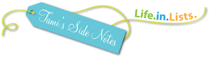 Tami-side-notes-Life-in-lists