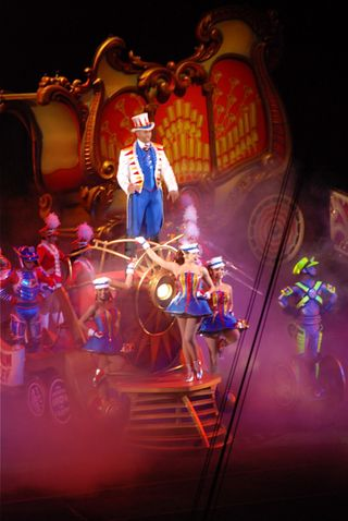 Circus ring leader