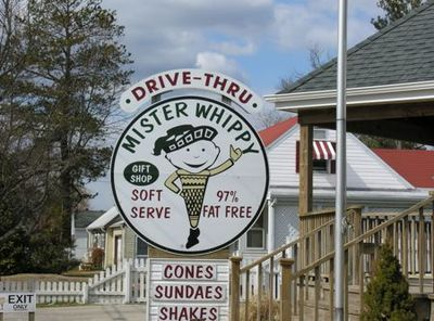 Sign mr whippy - tami potter