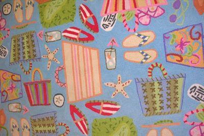 Beach house rug - Tami Potter