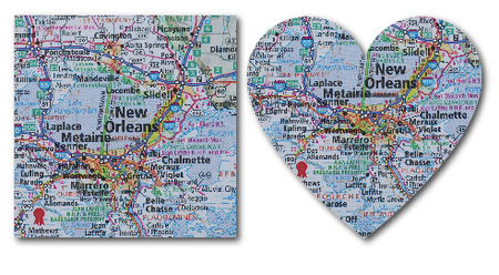 Map sq heart- tami potter