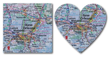 Map sq heart- tami potter