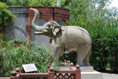 Audubon Zoo Elephant Statue - tami potter