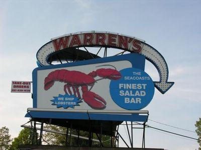 Sign Warrens lobster - Tami Potter