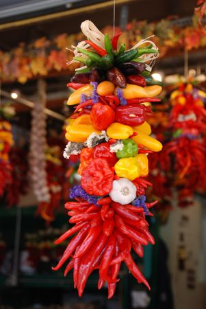 Market pepper garland - tami potter