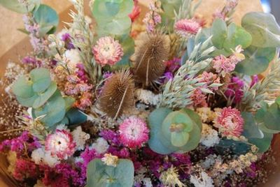 Market dried flowers - tami potter