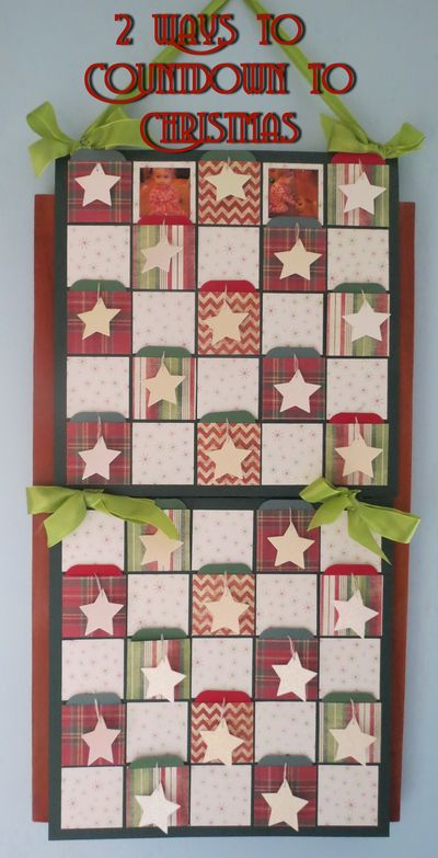 2 Ways to Countdown to Christmas-1a