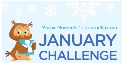 Mosaic Moments January challenge