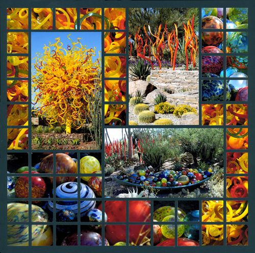Chihuly at the Desert Botanical Gardens 2